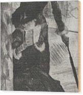 Mary Stevenson Cassatt Wood Print