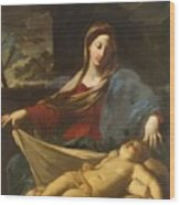Mary With Child 1635 Wood Print