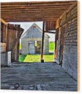 Maryland Barn Wood Print