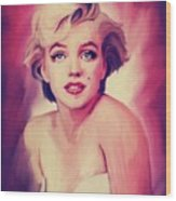 Marylin Wood Print
