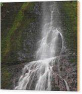 Marymere Falls 2 Wood Print
