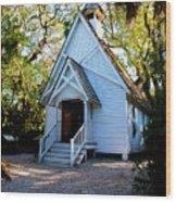 Mary's Chapel Wood Print