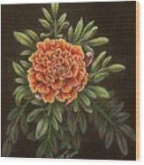 Marys Gold Wood Print
