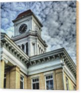 Maryville Tennessee Courthouse 3 Wood Print