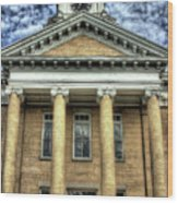 Maryville Tennessee Courthouse  Wood Print