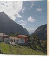 Masca Valley And Parque Rural De Teno 4 Wood Print