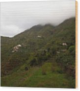 Masca Valley And Parque Rural De Teno 5 Wood Print