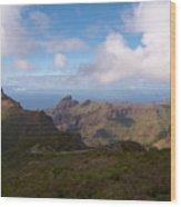 Masca Valley And Parque Rural De Teno Wood Print
