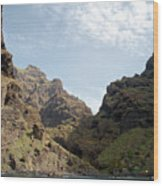 Masca Valley Entrance 2 Wood Print