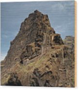 Masca Valley Entrance 3 Wood Print