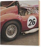 Maserati 450 S Wood Print