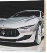 Maserati Alfieri Concept 2014 Wood Print
