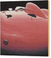Maserati Butt Wood Print