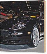 Maserati Gransport Wood Print