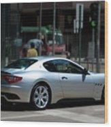 Maserati Granturismo S Wood Print