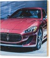 Maserati Wood Print