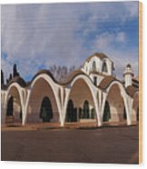 Masia Freixa, Terrassa, Spain Wood Print