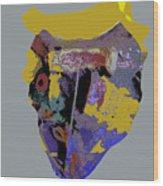 Mask 20 Wood Print