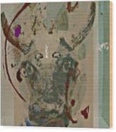 Mask 21 Wood Print