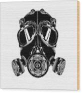 Mask Wood Print