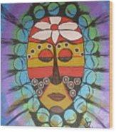 Mask IIi Wood Print