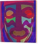Mask8 Wood Print