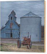 Mason City Nebraska  Wood Print