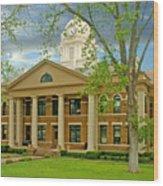Mason County Courthouse Wood Print