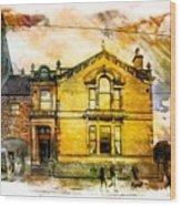 Masonic Lodge 2 Wood Print