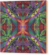 Masqparade Tapestry 7f Wood Print