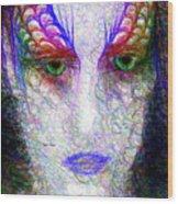 Masquerade 9571 Wood Print