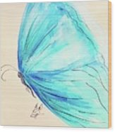 Masquerade Butterfly  Wood Print