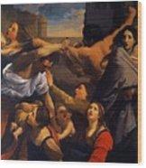 Massacre Of The Innocents 1611 Wood Print