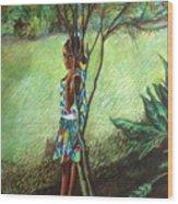 Massiel Wood Print