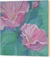 Master's Garden Wood Print