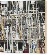 Masts 2354 Wood Print