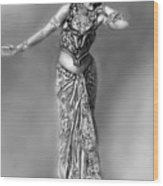 Mata Hari Wood Print