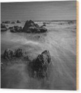 Matador Beach Wood Print