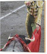 Matador El Juli Wood Print