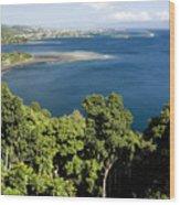 Matavai Bay, Site Of Anchorage Wood Print