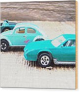 Matchbox Cars Wood Print