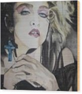 Material Girl Wood Print by Lance Gebhardt