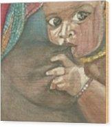 Maternidad Wood Print