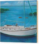 Matilda In The Florida Keys Wood Print