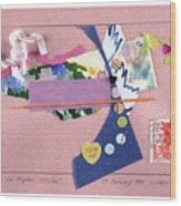 Matisse In Los Angeles Wood Print