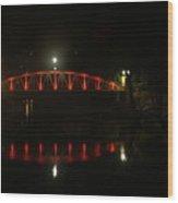 Matlock Bridge Uk Wood Print