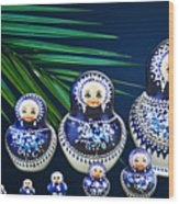 Matreshka Doll Wood Print