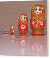 Matryoshka Memories Wood Print