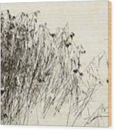 Matsuo Basho Remembering Wood Print