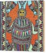 Matsya Awatar Wood Print